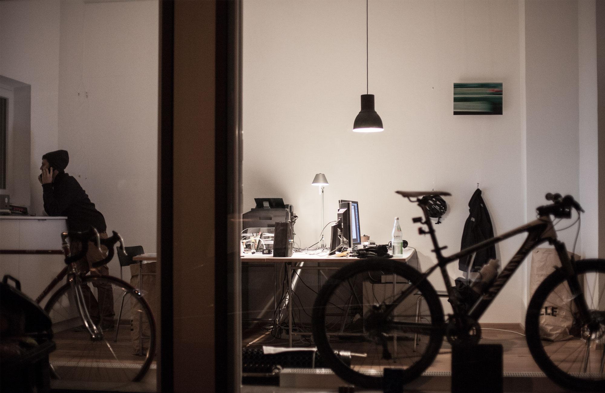 Die Räume der Designagentur 75a in Stuttgart