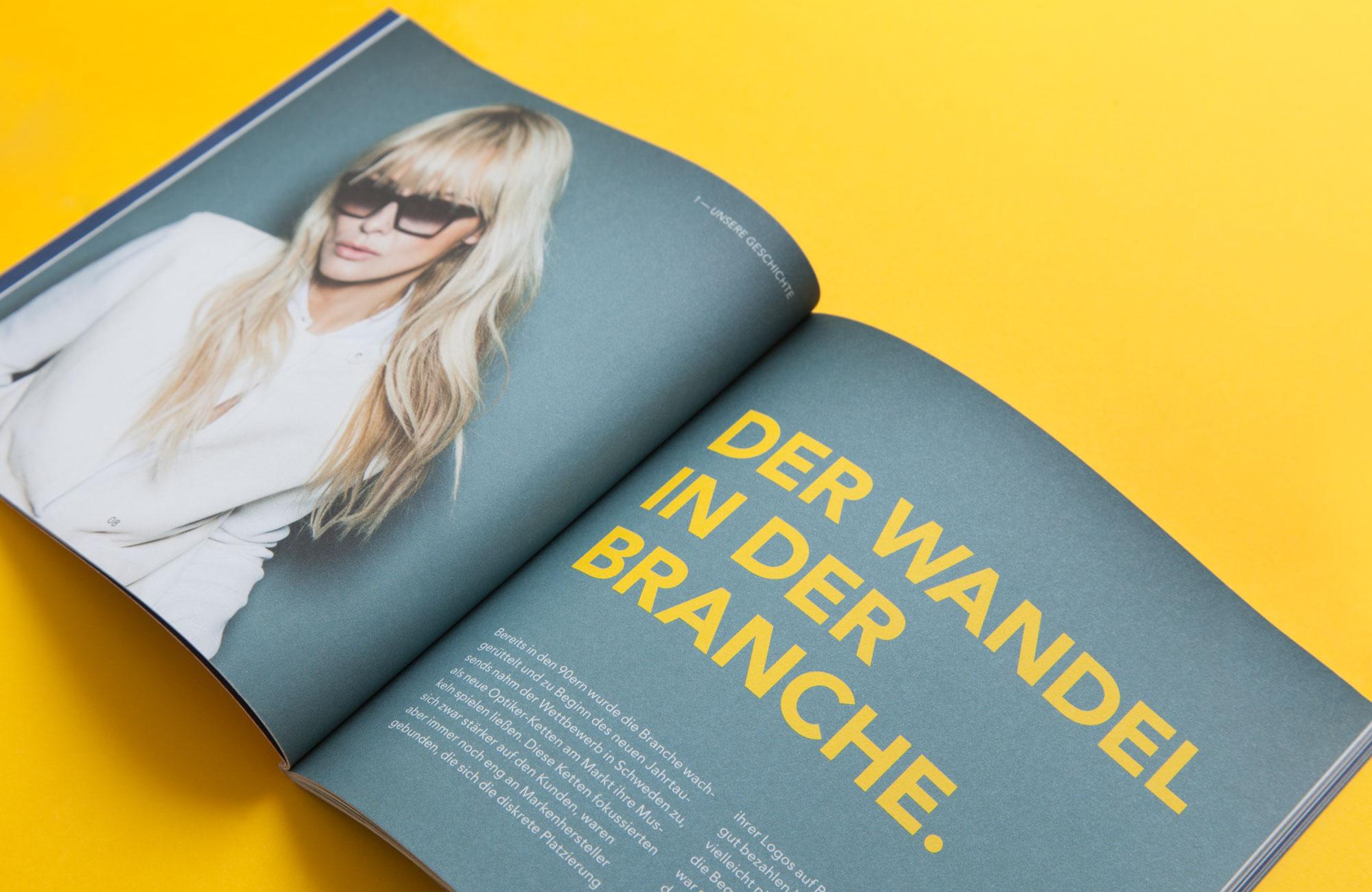75a Büro für Gestaltung aus Stuttgart hat das neue Corporate Design Brandbook für den schwedischen Brillenhersteller smarteyes entworfen