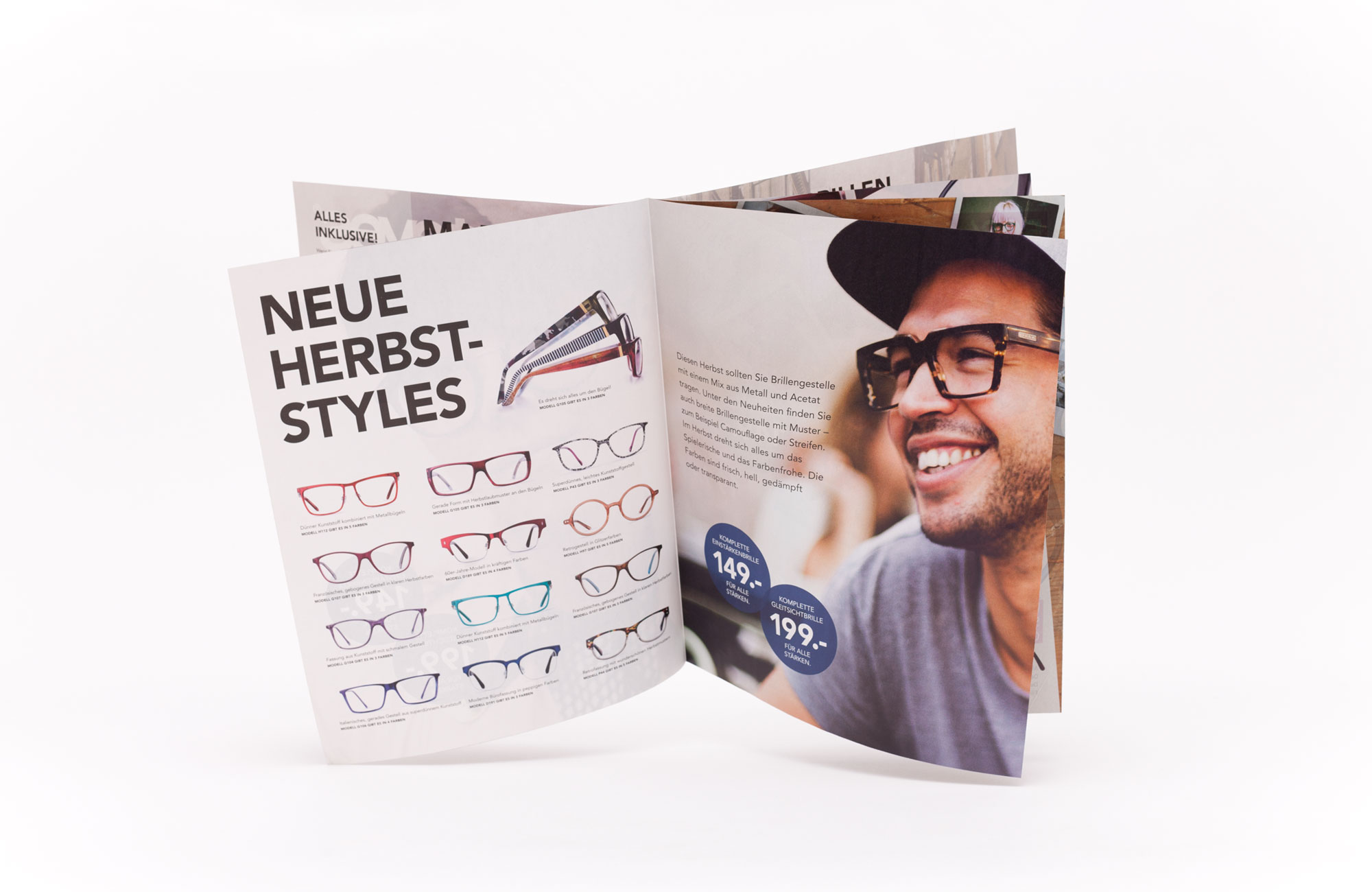 75a Büro für Gestaltung aus Stuttgart entwirft neues Kundenmagazin für den schwedischen Brillenhersteller smarteyes