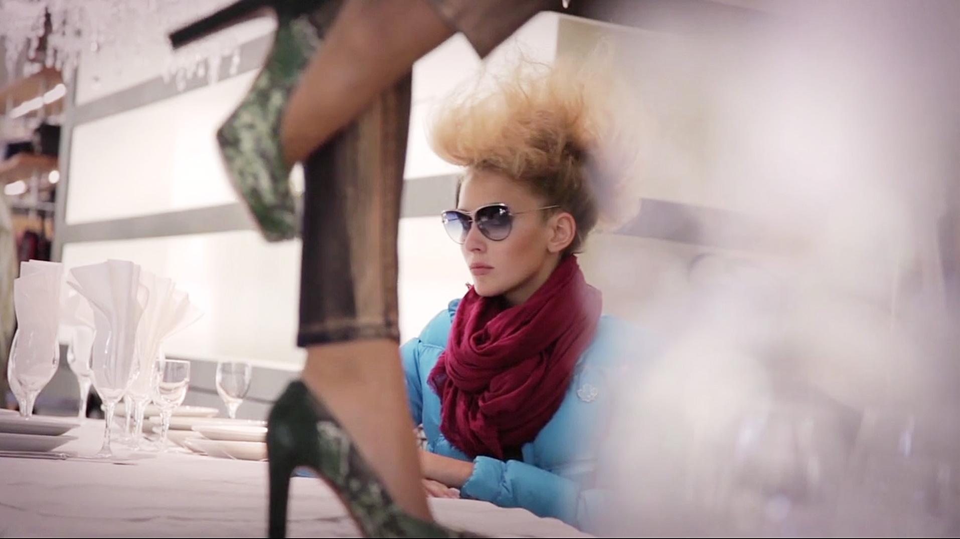 Making Of Look Book Shooting des Modelabels abseits aus Stuttgart 2013. Fotograf: Maks Richter