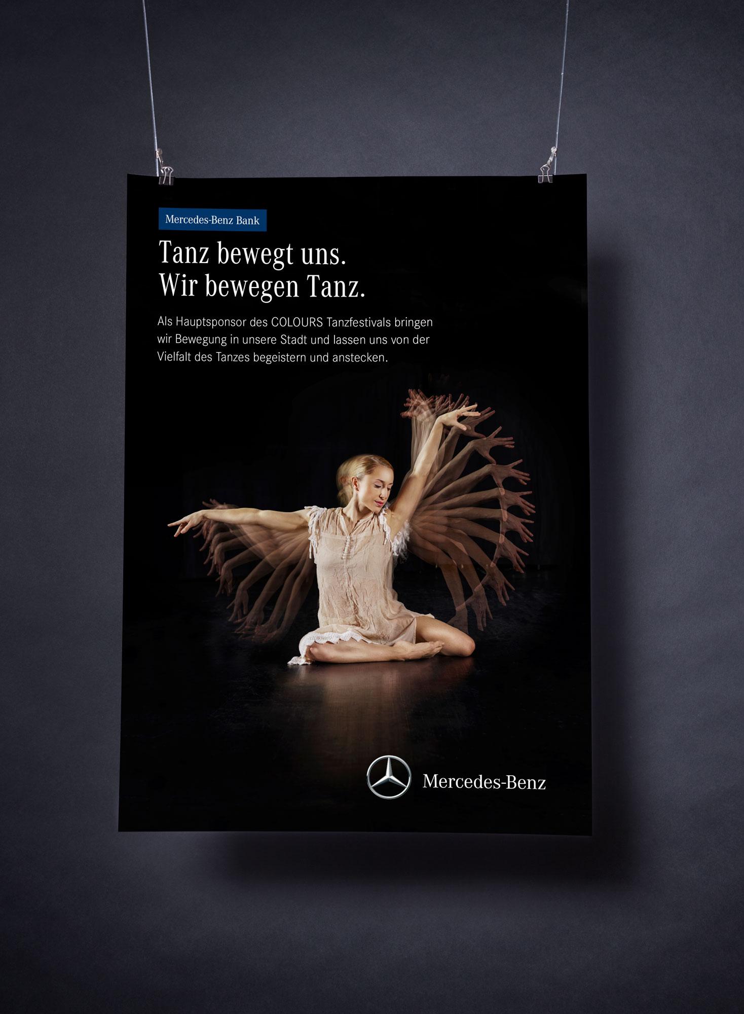 75a gestaltet eine Plakatkampagne für die Mercedes-Benz Bank