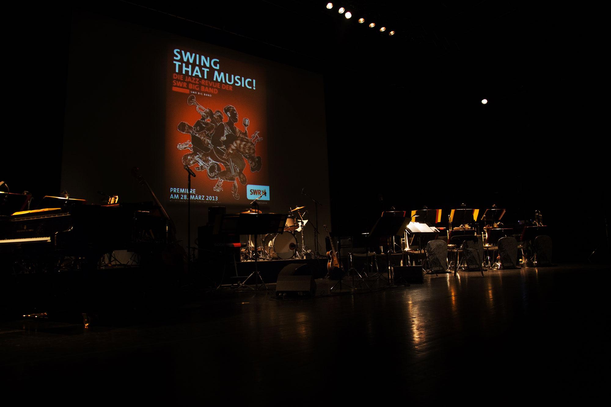 75a gestaltet für die SWR Big Band das