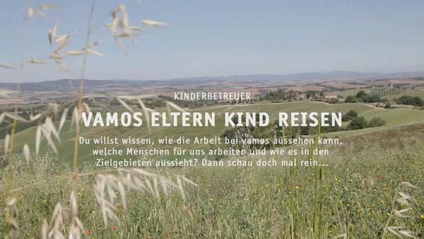 75a produziert das Mitarbeitervideo für Vamos-Eltern-Kind-Reisen