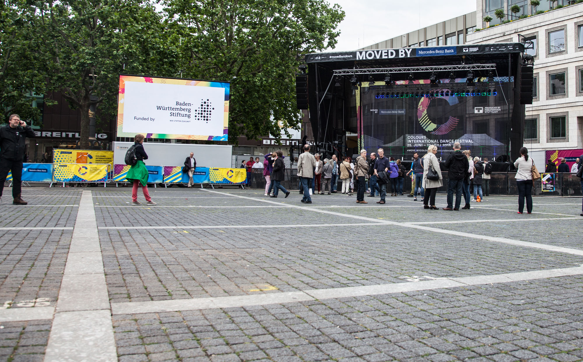 Eröffnungsfeier des Colours International Dance Festival 2015