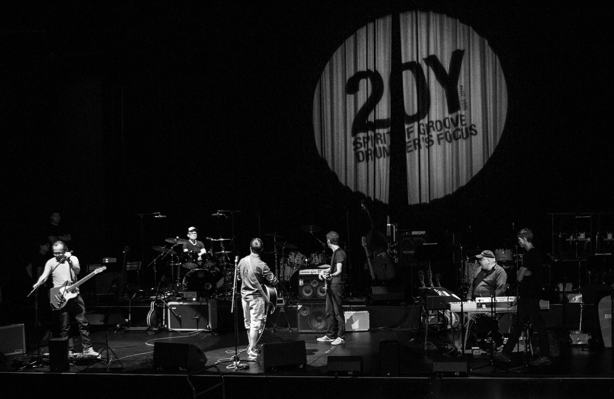 20Y-Event der Schlagzeugschule drummer's focus Stuttgart im Theaterhaus