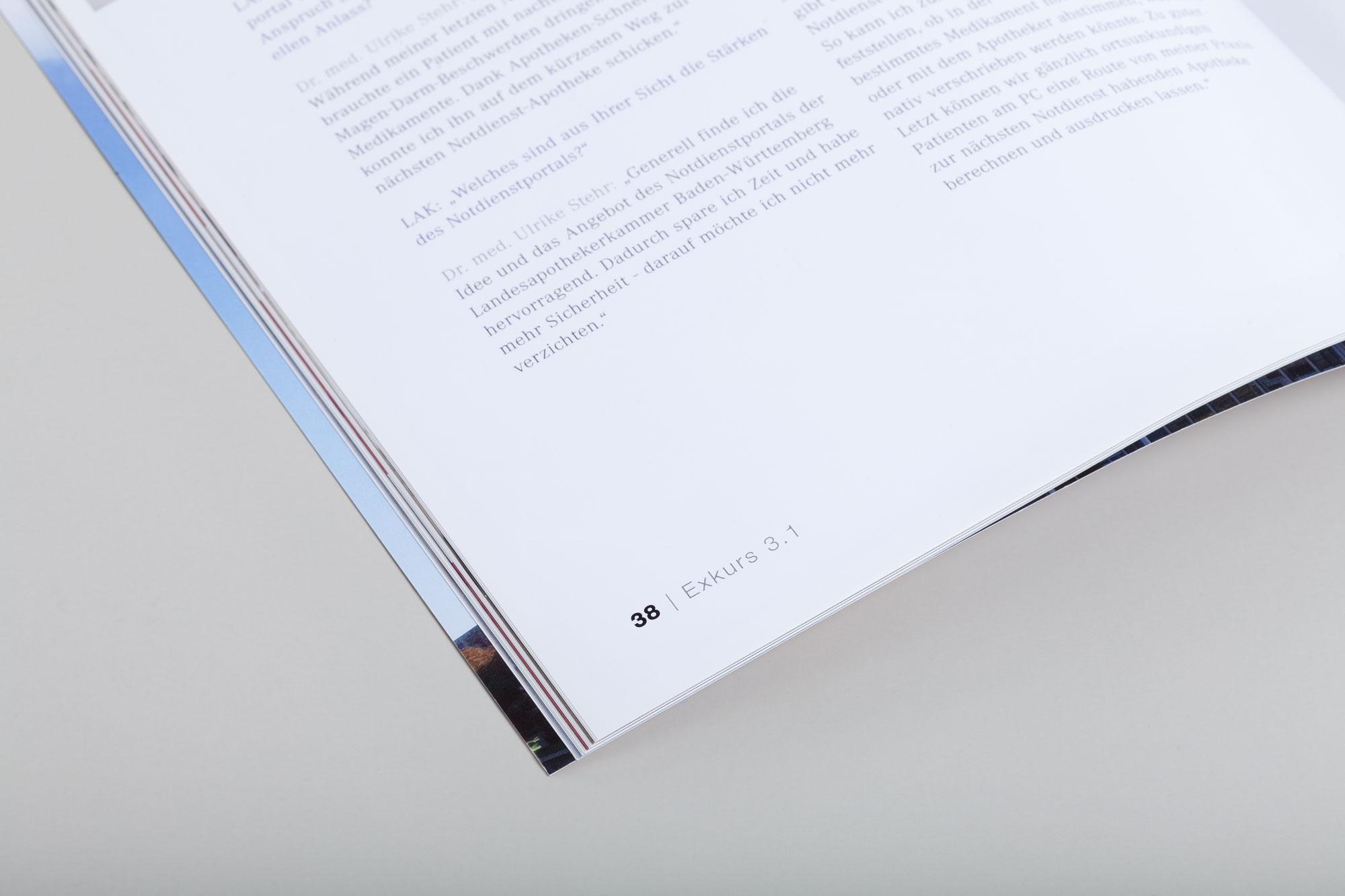 75a gestaltet die Imagebroschüre der LAK Baden-Württemberg