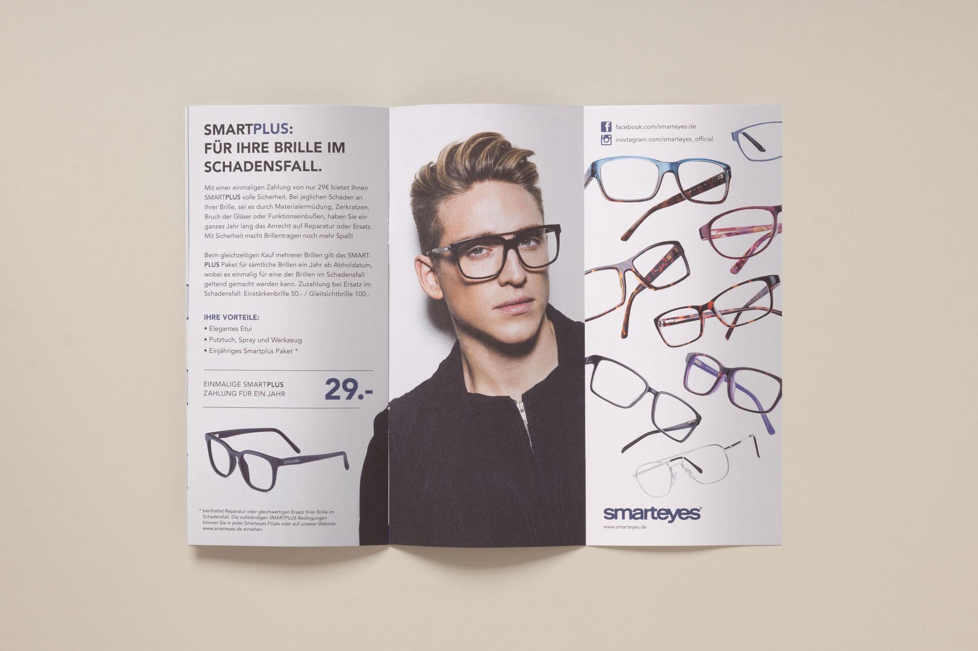 75a gestaltet den Shopflyer von smarteyes Deutschland