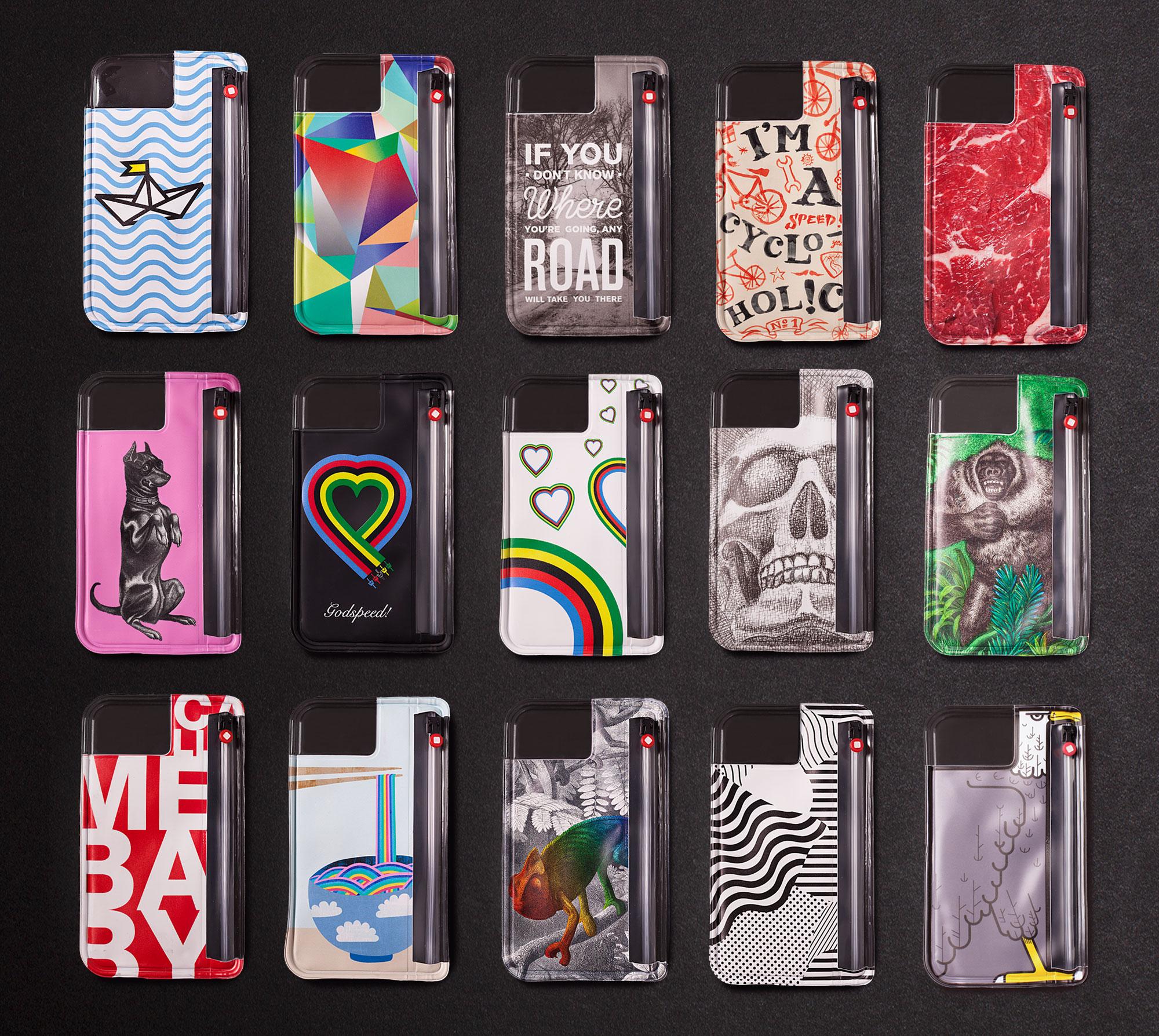 75a aus Stuttgart gestaltet die Sondereditionen der Handyhüllen von Pocpac