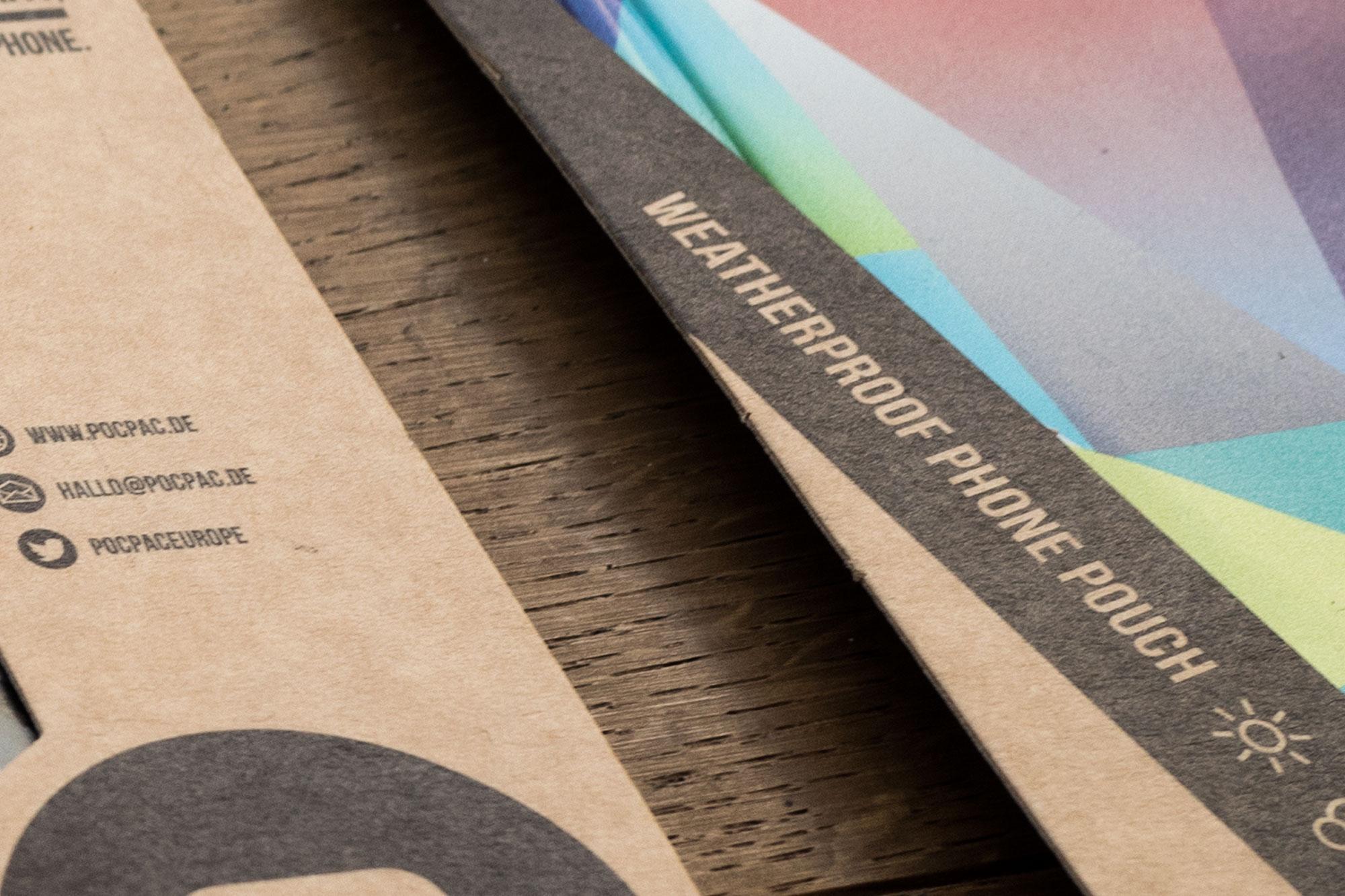 75a aus Stuttgart gestaltet die Produkverpackungen der Handyhüllen von Pocpac