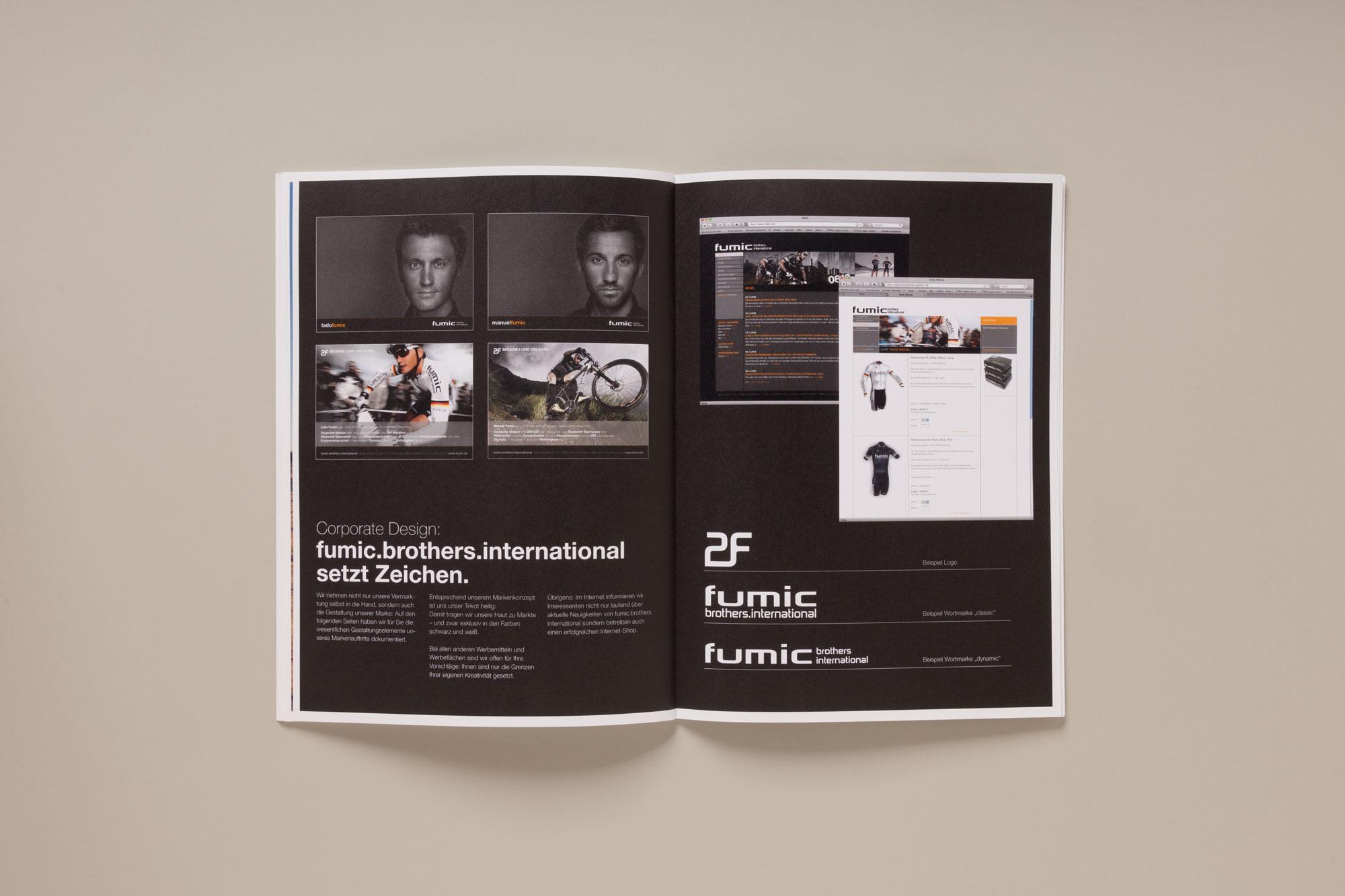 Für das MTB-Rennteam fumic brothers international gestaltet 75a aus Stuttgart die