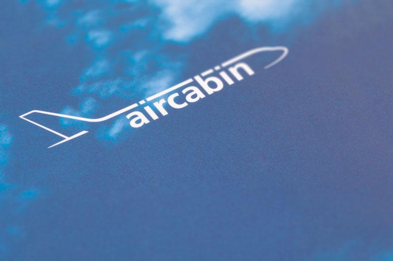 75a gestaltet den Geschäftsbericht für Aircabin, einer Tochtergesellschaft von Airbus Deutschland