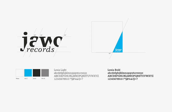 75a entwickelt das Corporate Design für jawo records