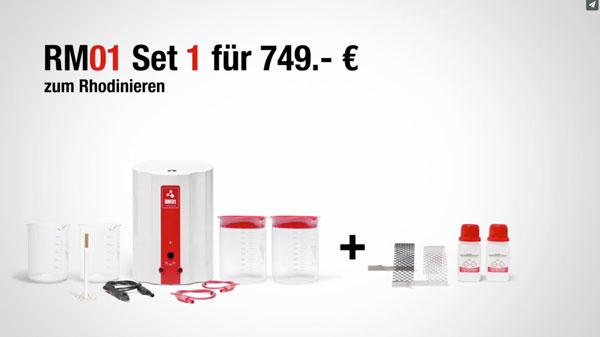 Für Jentner Metallveredelung produziert 75a den Produktfilm RM01
