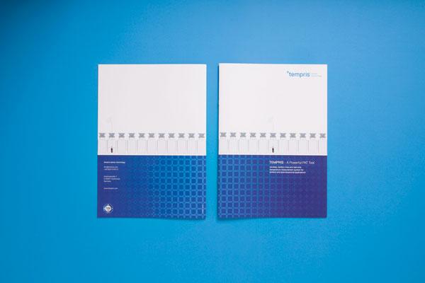 75a gestaltet die Produktbroschüre von tempris