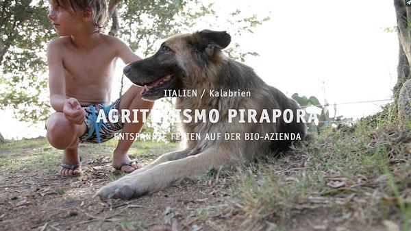 75a produziert für Vamos Eltern-Kind-Reisen ein Hotel Video für den Agriturismo Pirapora