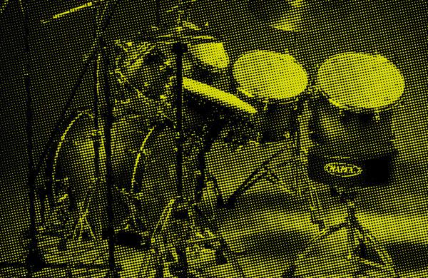 75a Büro für Gestaltung aus Stuttgart gestaltet das Keyvisual für 20Y drummer's focus Stuttgart