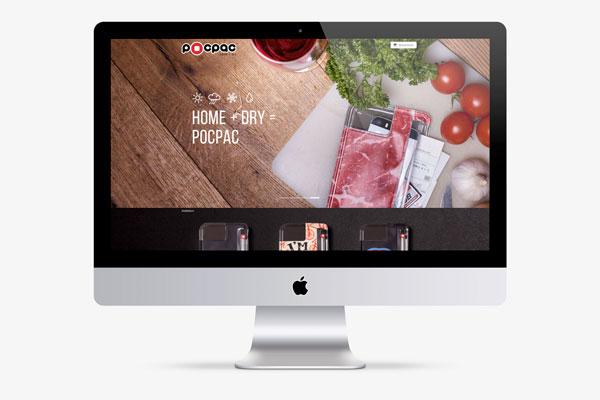 75a aus Stuttgart gestaltet den Webshop von Pocpac