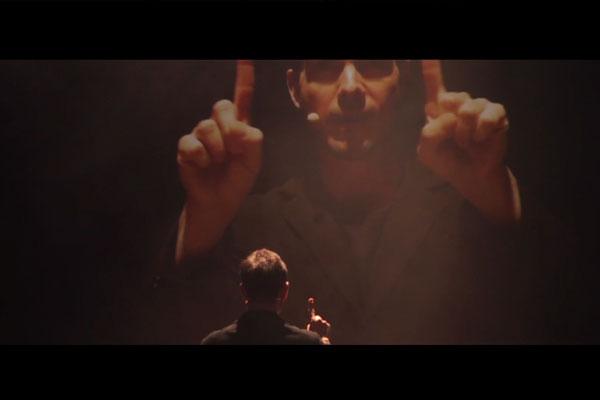 75a dreht den Trailer für das Solotanzstück The Gift von Itzig Galili und Eric Gauthier